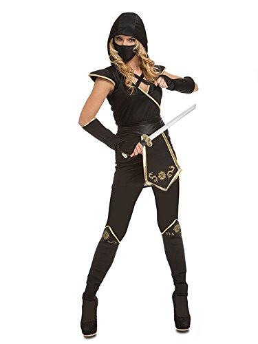 DISBACANAL Disfraz de Ninja para Mujer - Único, M: Amazon.es ...