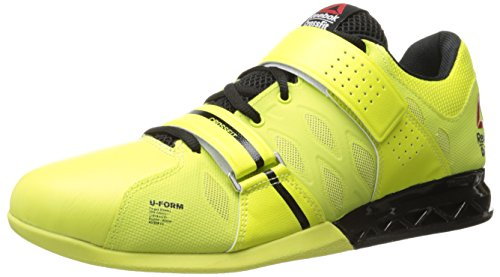 Reebok Men's Crossfit Lifter Plus 2.0 Training Shoe, High Vis Green/Black, 8 M US