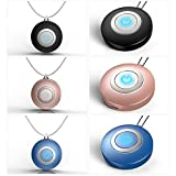 Dvluck Personal Air Purifier Necklace Wearable Mini Portable Negative Ion Generator for Adults Kids