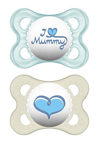 MAM Original 0+ (2 unidades), Chupete de silicona para recién nacido ...