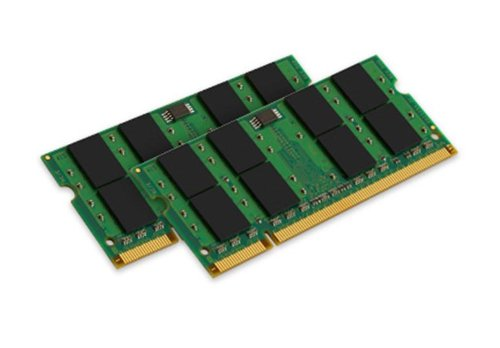 2gb Sdram Valueram Ddr2 Memory - Kingston ValueRAM 2GB Kit (2X1GB) 800MHZ DDR2 SODIMM Notebook Memory