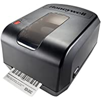 Honeywell PC42TWE01212 PC42t Printer,  Row, Latin Fonts, USB, Serial, US PC, 1 Core, Black