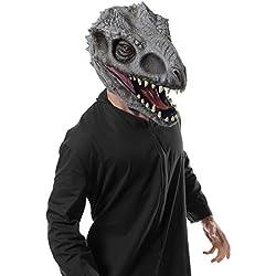 Rubie 's Costume Co de los hombres Jurassic World Dino 2Overhead Mask