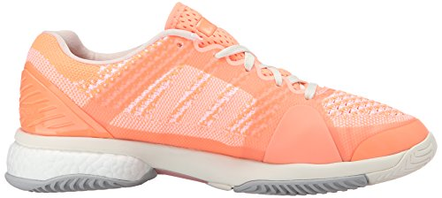 adidas Performance Damen ASMC Barricade Boost Tennisschuh Ultra Bright Pink / Weiß / Hell Floral