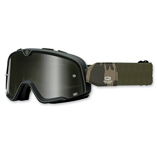 100% Unisex Adult Barstow Black Legend Goggles - Outlet Barstow