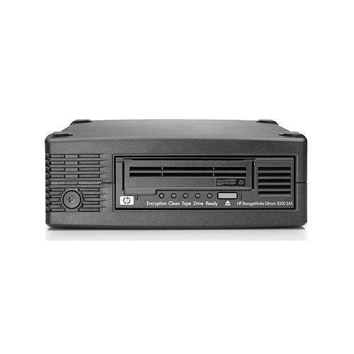 HP EH958SB StorageWorks LTO Ultrium 5 Tape Drive - LTO-5 - 1.50 TB (Native)/3 TB (Compressed) - SAS - 5.25'' Width - 1/2H Height - External - 140 MBps Native - 280 MBps Compressed by HP