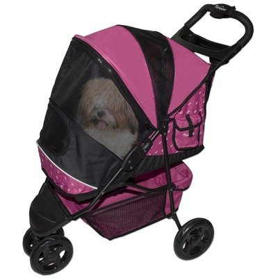 Special Edition Pet Stroller in Raspberry, My Pet Supplies