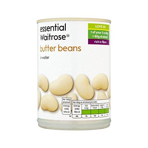 Butter Beans essential Waitrose 420g