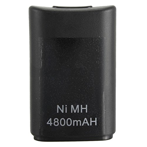 Xbox 360 battery - TOOGOO(R)4800mAh battery Ni-MH Controller for Xbox 360 Microsoft wireless Gamepad