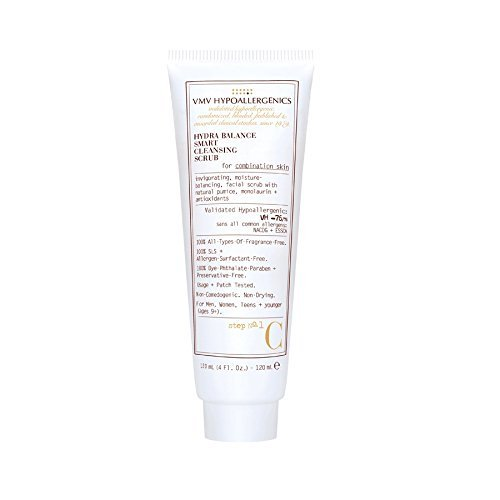 VMV Hypoallergenics Superskin Hydra Balance Smart Cleansing Scrub for Combination Skin, 4 Fluid Ounce by VMV Hypoallergenics by VMV Hypoallergenics