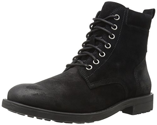 206 Collective Men's Denny Suede Lace-up Motorcycle Boot