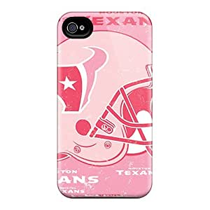 Iphone 4/4s Covers Cases - Eco-friendly Packaging(houston Texans)