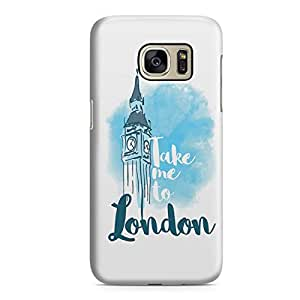 Samsung S7 Edge Case London Famous World Destination Light Weight Clear Edges Samsung S7 Edge Cover Wrap Around