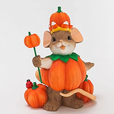 Enesco Halloween Charming Tails You Rule Figurine, 3.125-Inch
