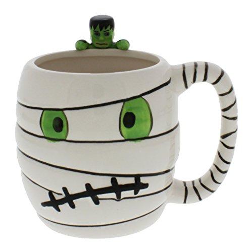 222 Fifth Fright Night Halloween Ceramic Mug (Mummy)