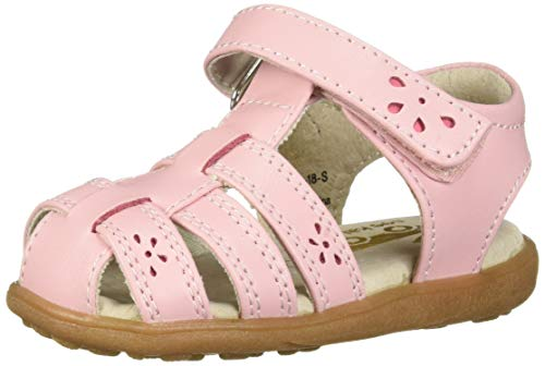 See Kai Run Girls' Gloria IV Fisherman Sandal Pink 9 M US Toddler