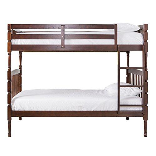 Dream On Me Julia 2-in-1 Twin Over Bunk Bed, Espresso ()