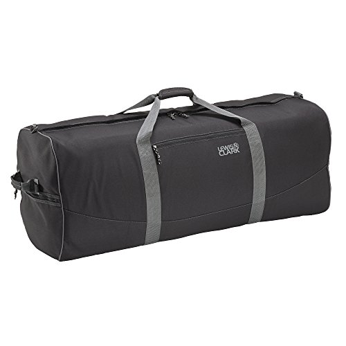 lewis-n-clark-uncharted-900d-zipper-duffel-bag-black-18x36-inch