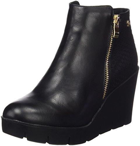 Xti Botin Sra C. 46205, Zapatos De Tacón, Mujer Negro (Negro)