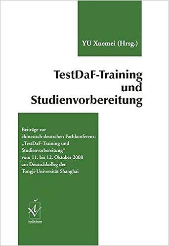 Training book testdaf