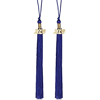 Gold Eaaglo Graduation Honor Cord with Tassel for Grad Days Ceremony Decoration Polyester 2 Pcs