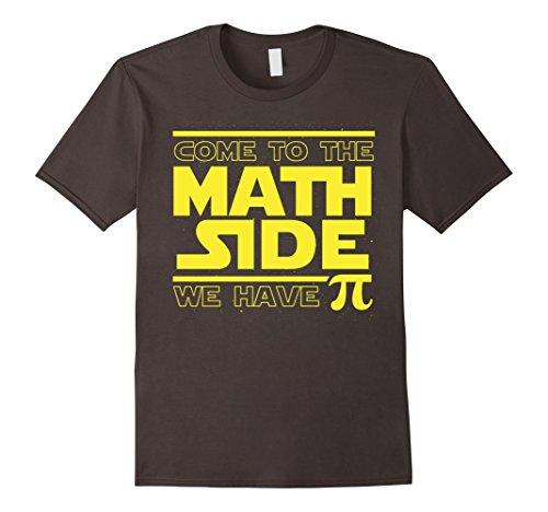 Mens Come To The Math Side We Have Pi Funny Pi Day T-shirt Medium Asphalt