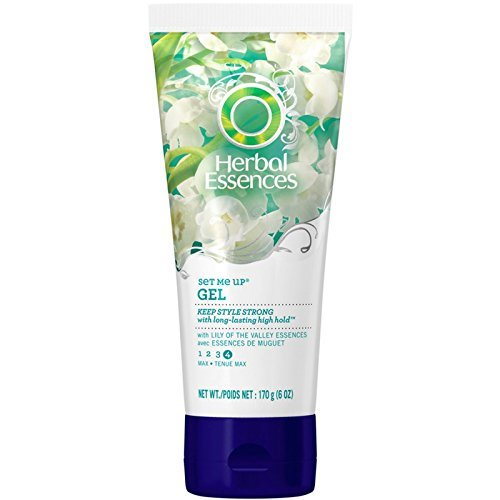 - Herbal Essences Set Me Up Max Hold Hair Gel, 6 Ounce
