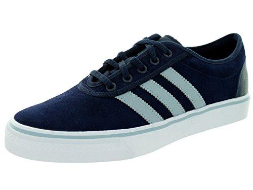 Adidas adi-ease, colore: blu, con lacci, in pelle scamosciata, motivo: Skateboard C76832-Scarpe da ginnastica, scarpe, misura 40-43 Adidas adi-ease, colore: blu e pizzo-up-camoscio, Skateboard, Scarpe