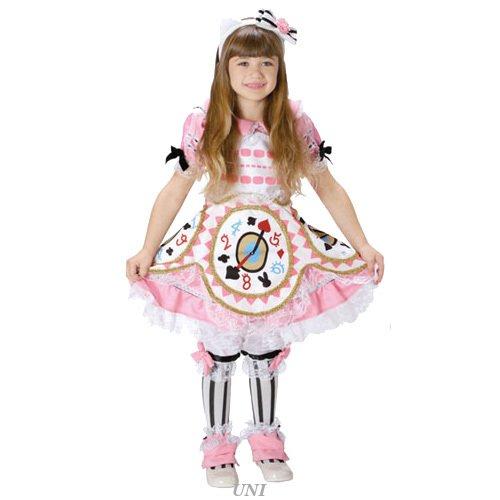 [Sanrio Alice Kitty Kids Costume pink girl 100cm-120cm 95296S] (Girls Pink Samurai Costumes)