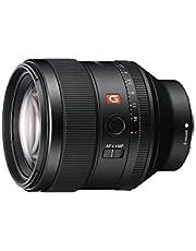 Sony SEL-85F14GM G Master portretlens, vaste brandpuntsafstand, 85 mm, F1.4, volledig formaat, geschikt voor A7, A6000, A5100, A5000 en Nex series, E-Mount zwart
