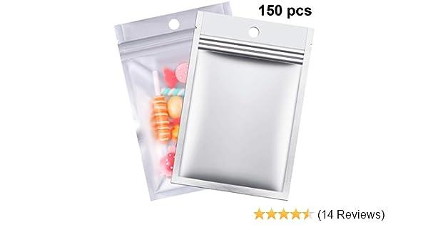 "100 Grip Seal Bags 2.25/"" X 3/"" Self Resealable Zip Lock Clear Plastic Bags"