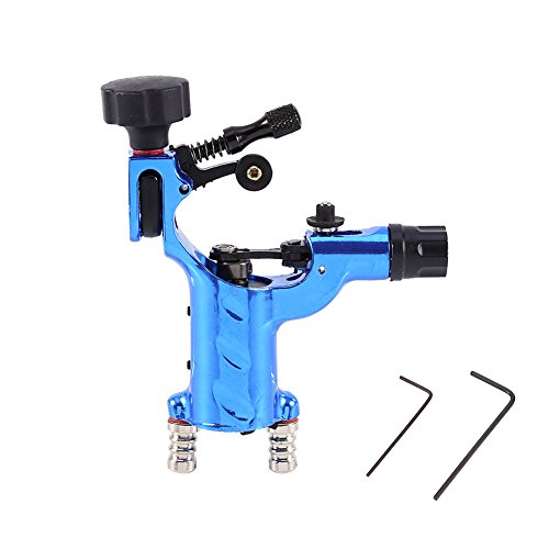 Latest Generation Dragonfly Professional 11000R/Minute Electric Rotary Liner Shader Tattoo Machine Gun Permanent Makeup Tool (Blue)