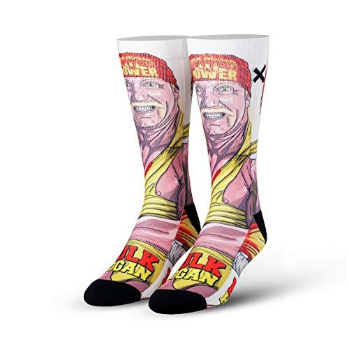 Odd Sox Unisex Hulk Hogan Vintage Socks (Multi, One Size)