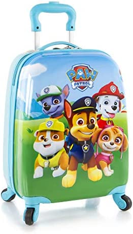 Nickelodeon Paw Patrol Boy's 18 Hardside Spinner Carry On Luggage