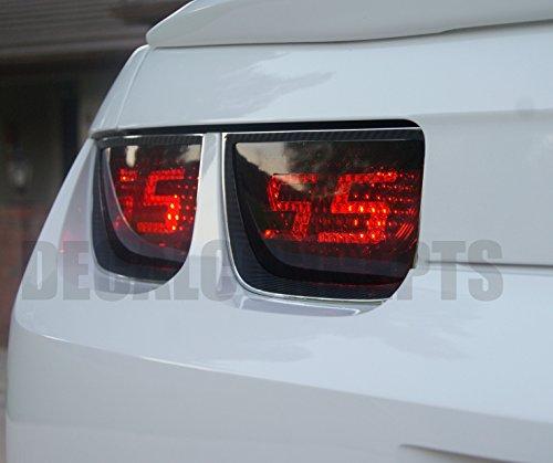 Camaro Tail light Smoked SS Decal Overlay kit (2010-2013) (Tail Decal)