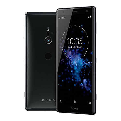 Sony Xperia XZ2 (H8296) 6GB / 64GB 5.7-inches LTE Dual SIM Factory Unlocked - International Stock No Warranty (Liquid Black)