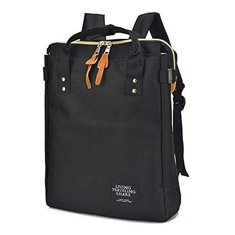 Amazon.com: Women Men Canvas Backpacks School Bags for ...