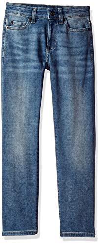 Amazon Essentials Little Boys' Straight-Fit Jeans, Doppler/Light Wash,5 ()