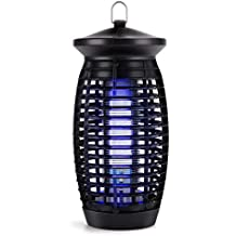 S SAVHOME Upgraded Electric Bug Zapper, Insect Killer, Mosquito Trap, Fly Gnat Trap 120V UV Bug Light/500 Sq Ft Coverage Home Office Store Indoor