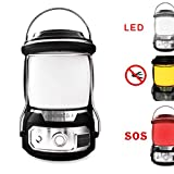 LED Camping Lantern - seenlast LED Camping Lanterns Super Bright Portable Lanterns Water Resistant - Shock Proof Tent Light with USB Cable Suitable for Hurricane, Emergency, Survival Kits, Hiking, Fishing, Home and More