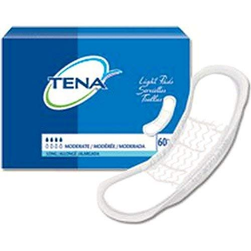 - Units Per Pack 60 Tena Light Bladder Control Pads Absorbency Moderate/Longer Length SCA Hygiene Products 41409