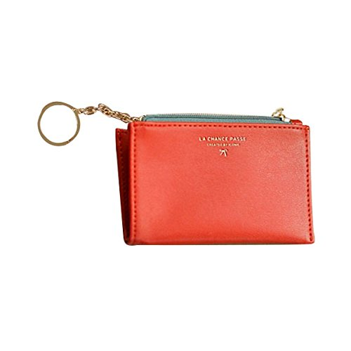 Iconico Key coin wallet (Vermilion)-Business Credit Card ...