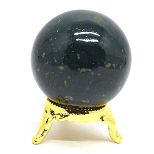 Tourmaline Ball Black 08 Protective Crystal Stone Radiation Deflector Sphere Natural 2.5
