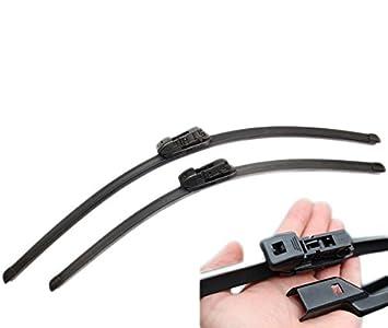 Handycop/® 2x Flex//Flat Scheibenwischer Flach Wischer Satz Set Premium