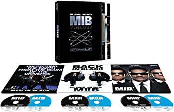 Men In Black Trilogy 20th Anniversary Edition (4K/UHD + Blu-ray)
