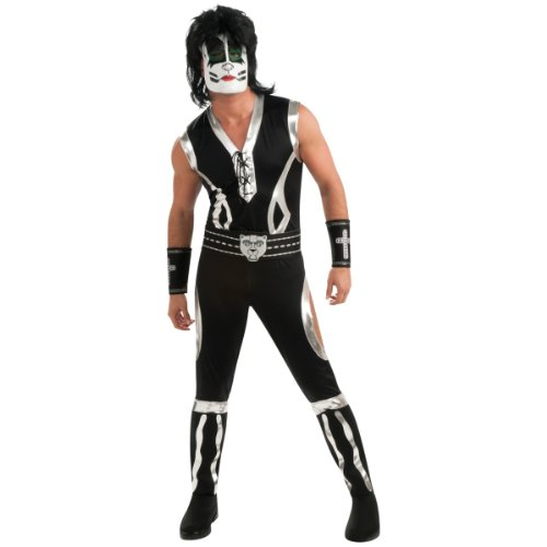 Deluxe The Catman Costume - Large - Chest Size 42-44 (Adult Kiss The Catman Costume)