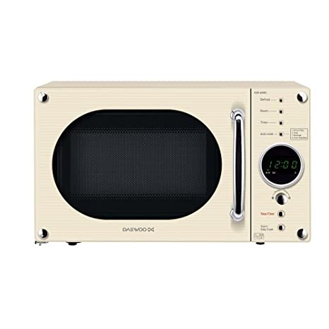 Daewoo KOR6N9RC Touch Control 800W 20L Microwave Oven in Cream ...
