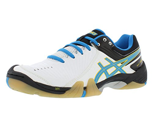ASICS Women's Gel-domain 3 Indoor Court Shoe, Diva Blue/White/Silver, 12 M US (Asics Gel Domain)