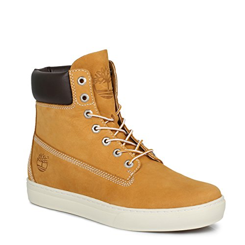 Timberland EK Wheat Yellow Newmarket 6inch Cupsole Mens Leather Boots-UK 9.5