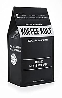 Koffee Kult Eye Cracker Espresso Beans - Bright, Bold Medium Roast with a Citrus Twist Coffee